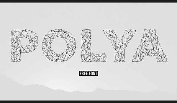 jenis font polya