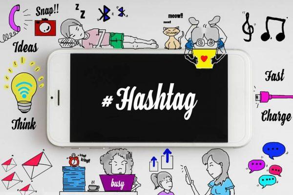 cara mencari hashtag