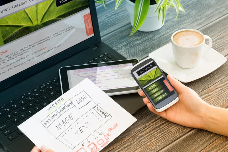 redesain web design