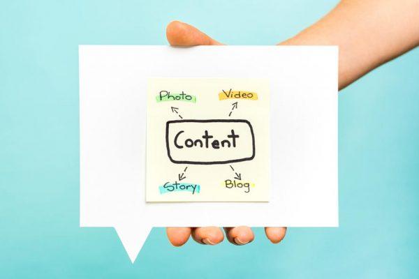 visual content website bisnis